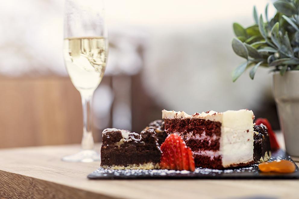Cakes & Champagne en Vincci The Mint - Tardes chic