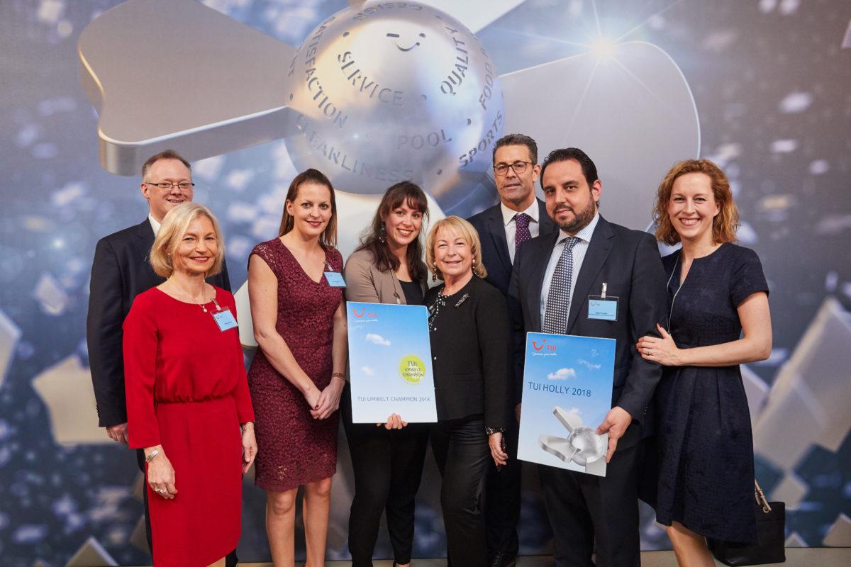 Vincci Selección La Plantación del Sur 5* (Tenerife), recibe el premio TUI Holly 2018 en Berlín