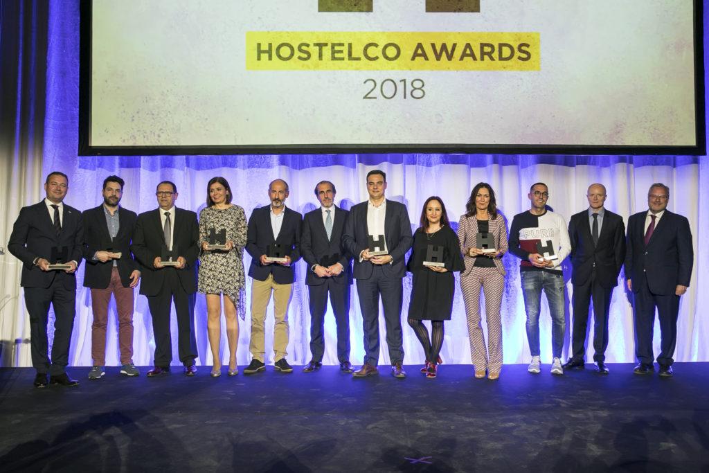 Premiados en Hostelco Awards 2018