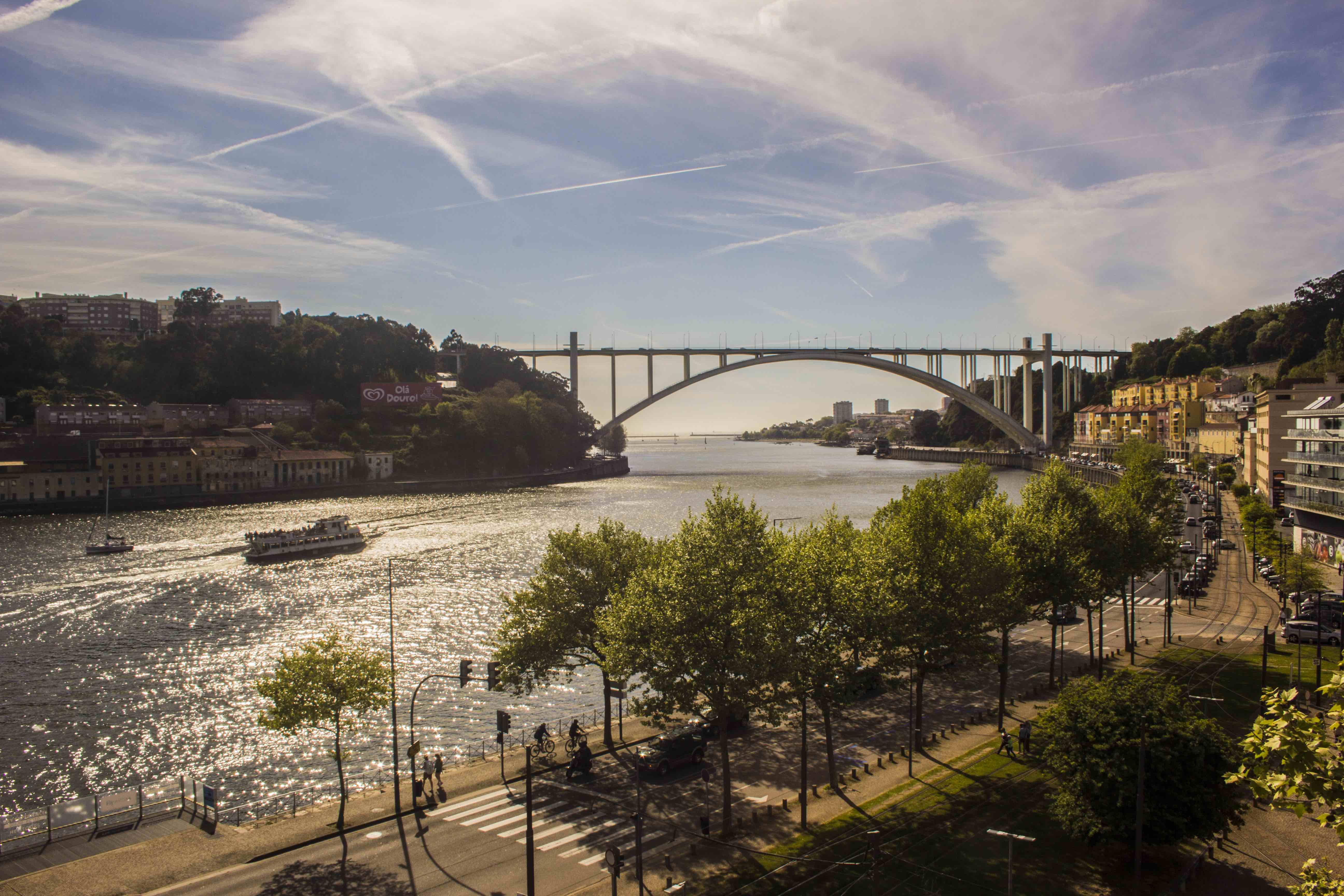 Vistas desde la terraza de Vincci Porto
