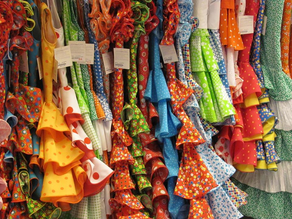 Sevilla - Vestidos de gitana