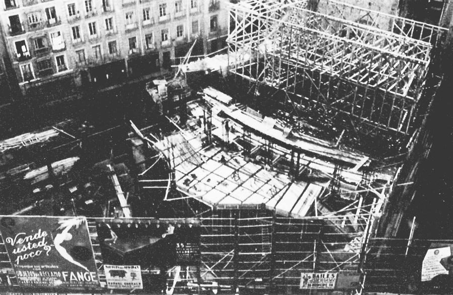 Fotografía extraída de la revista Arquitectura (Nº 1 Enero-Febrero de 1935)