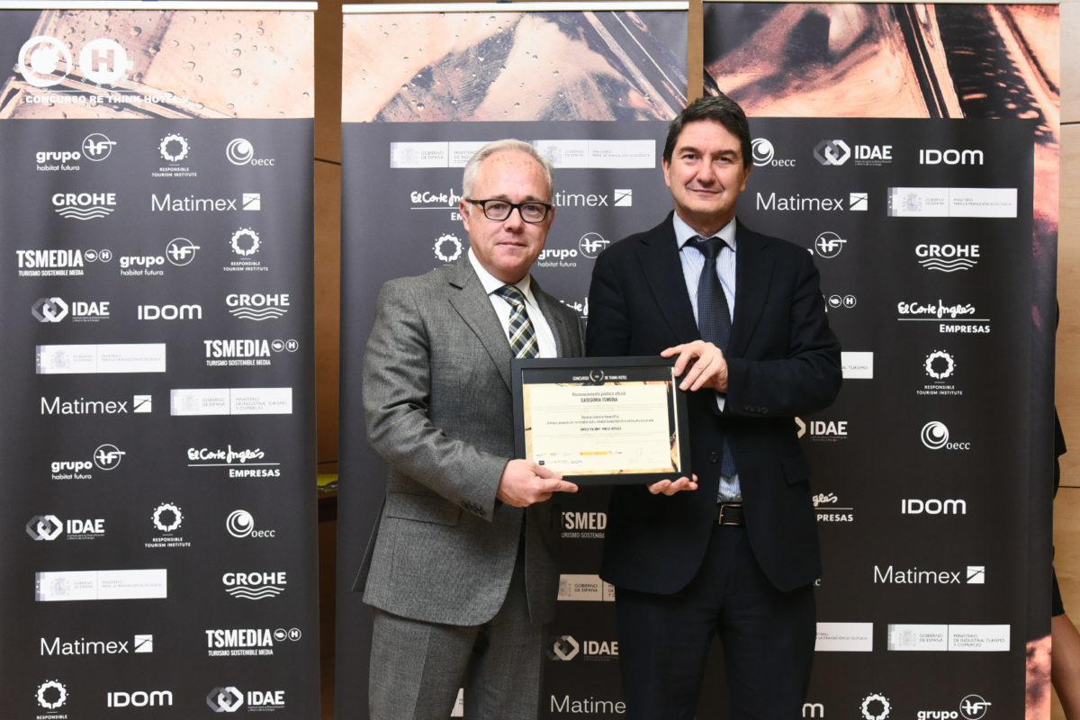 Vincci The Mint 4*, mejor proyecto  de sostenibilidad y rehabilitación energética hotelera en los Premios Re Think