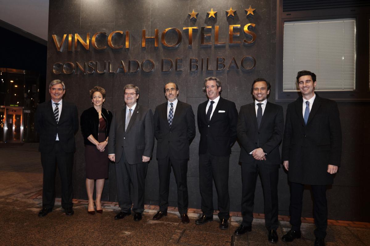 ¡Queda oficialmente inaugurado nuestro nuevo hotel en Bilbao, Vincci Consulado de Bilbao 4*!