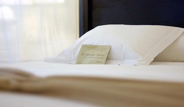 Carta de Almohadas en Vincc Hoteles