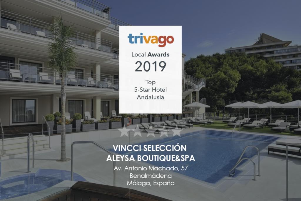 Premio Trivago 2019 - Vincci Aleysa