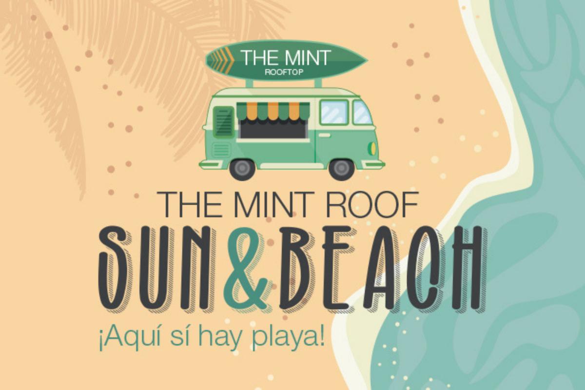 Este verano en Madrid… ¡Sí hay playa! en la terraza de Vincci The Mint 4*