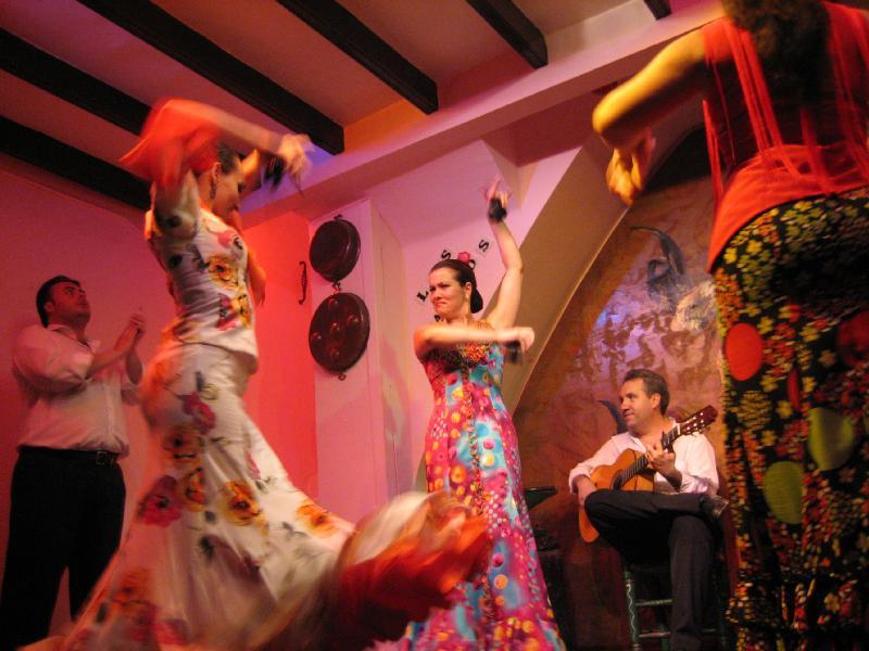 Tablaos y espectáculos flamencos en Sevilla