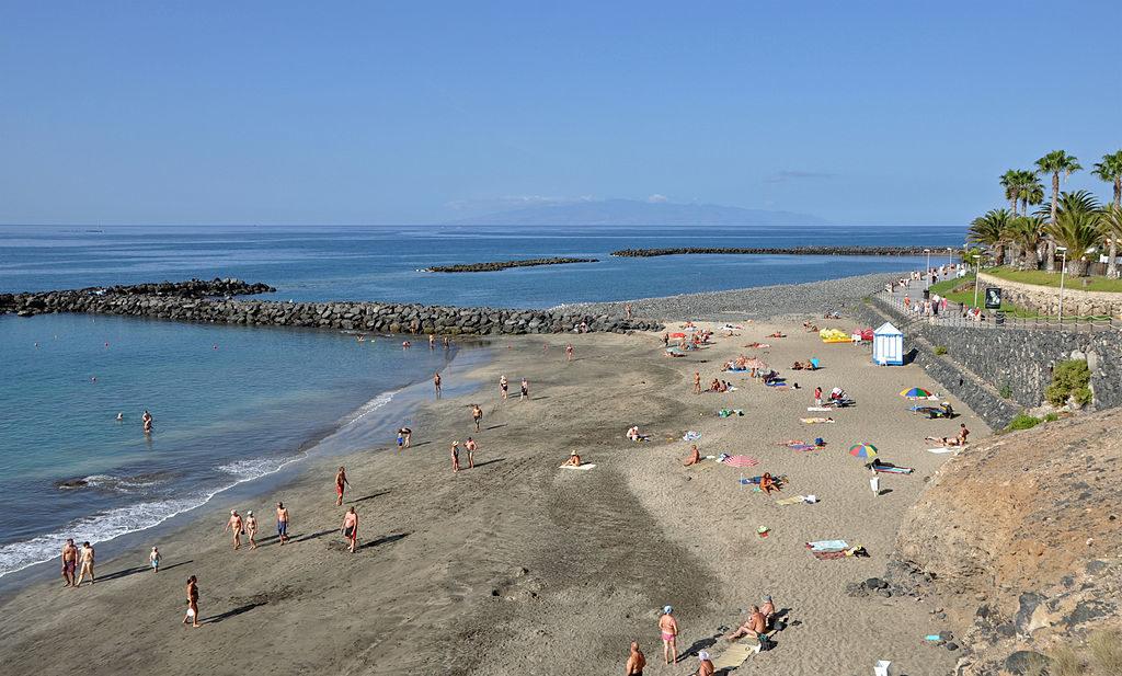 Playa del Duque en Costa de Adeje Tenerife