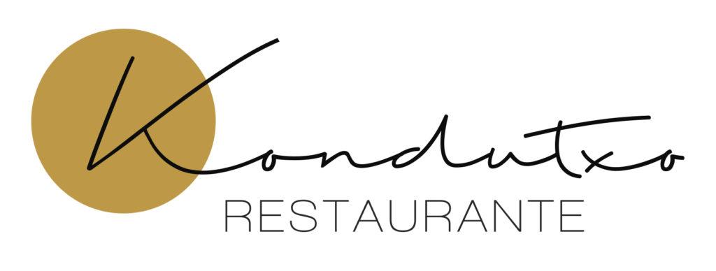 logo restaurante Kondutxo en Bilbao