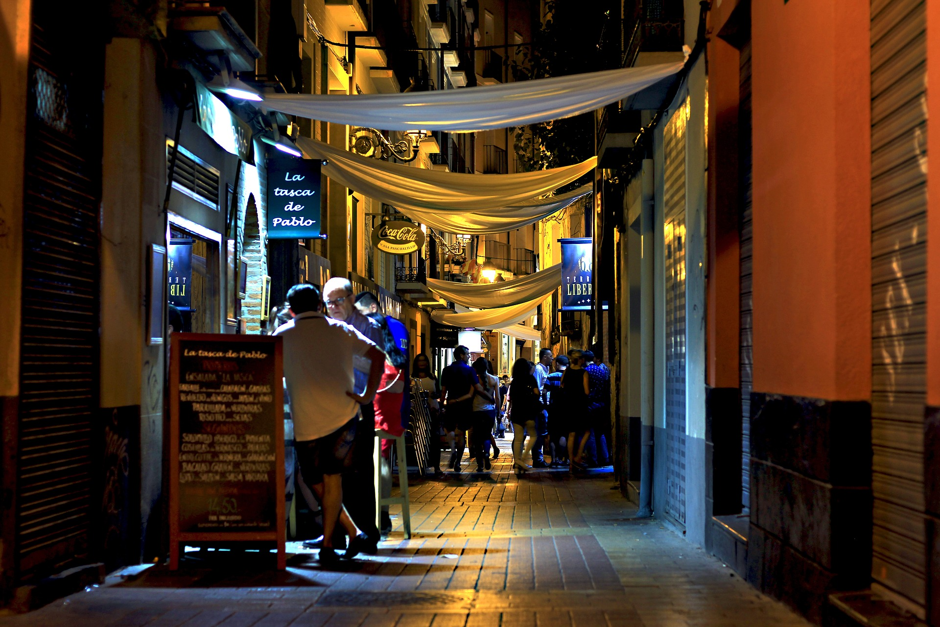 Noche en Zaragoza