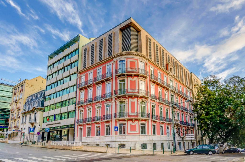 Exterior del hotel Vincci Liberdade 4* en Lisboa