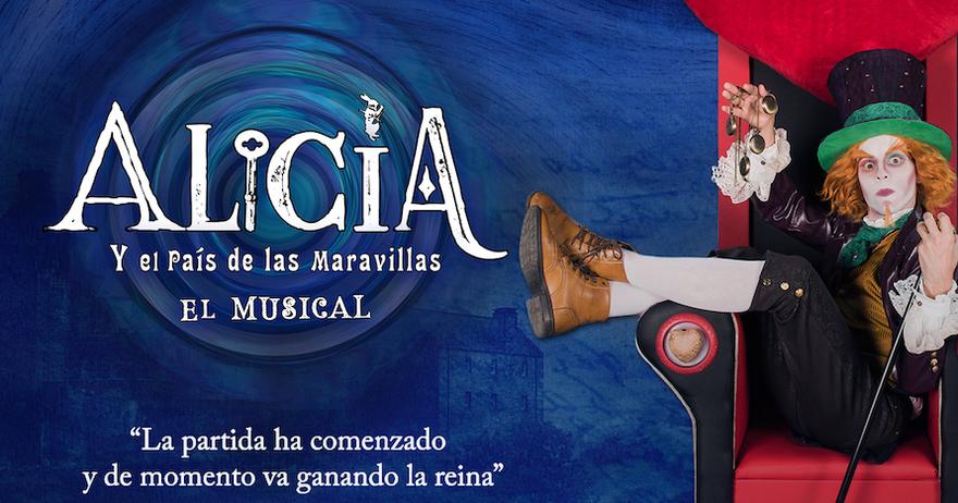 Alicia en el País de las Maravillas. Vía, www.gruposmedia.com