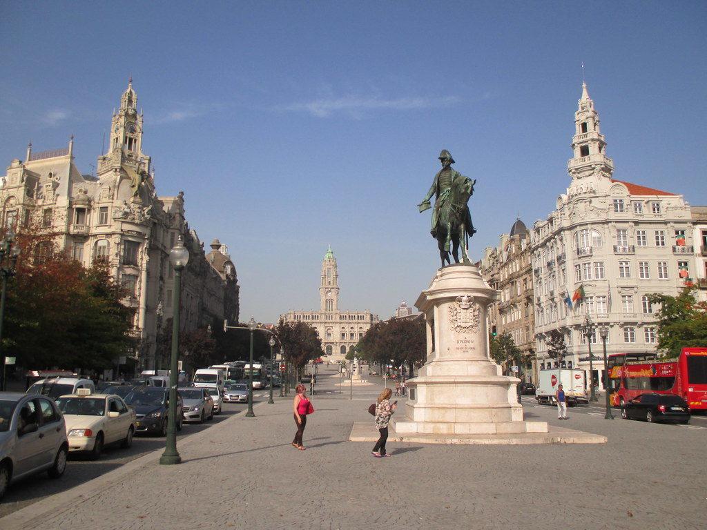 Praça da Liberdade de Oporto