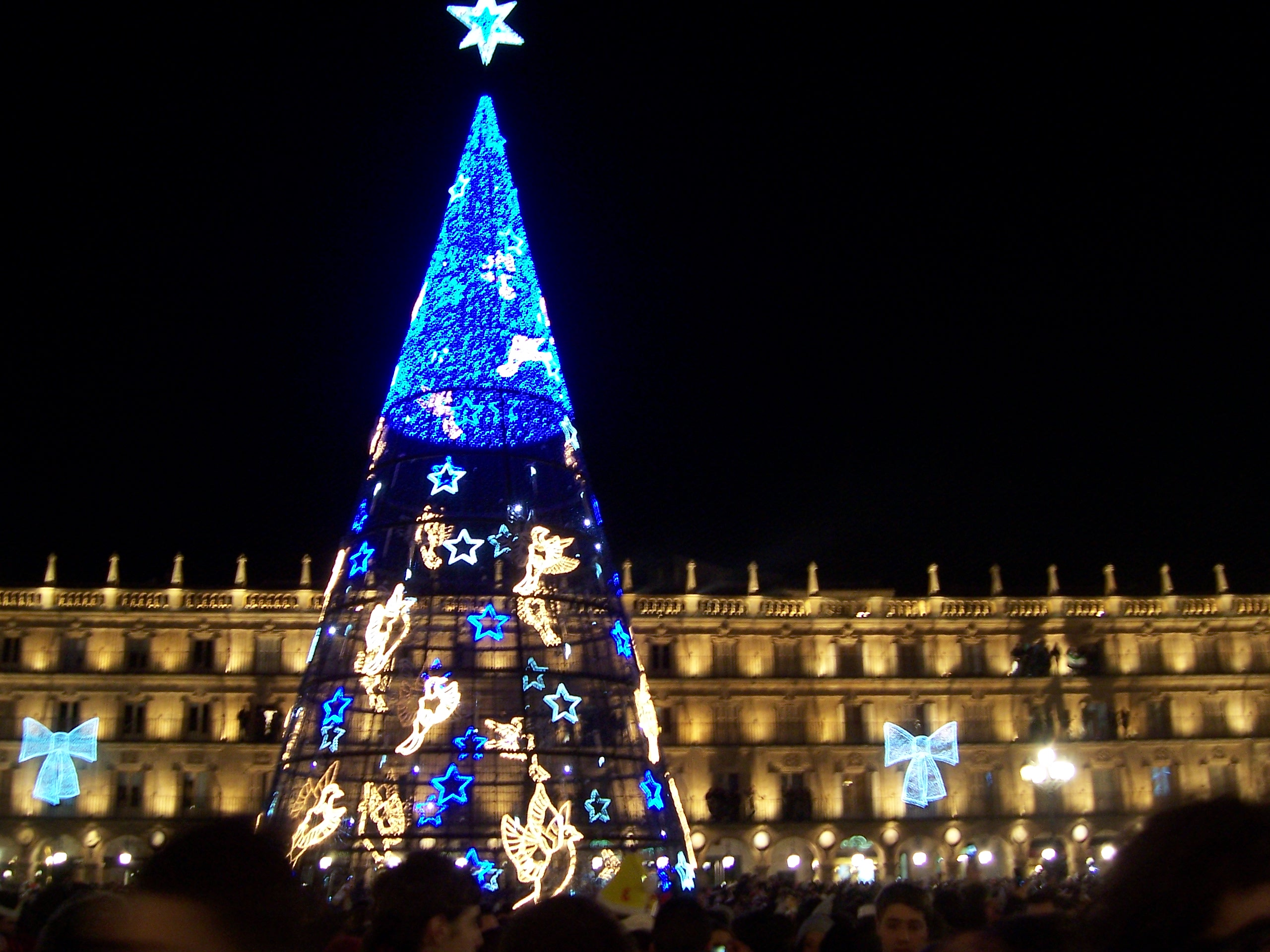 Árbol de Navidad Plaza Mayor de Salamanca