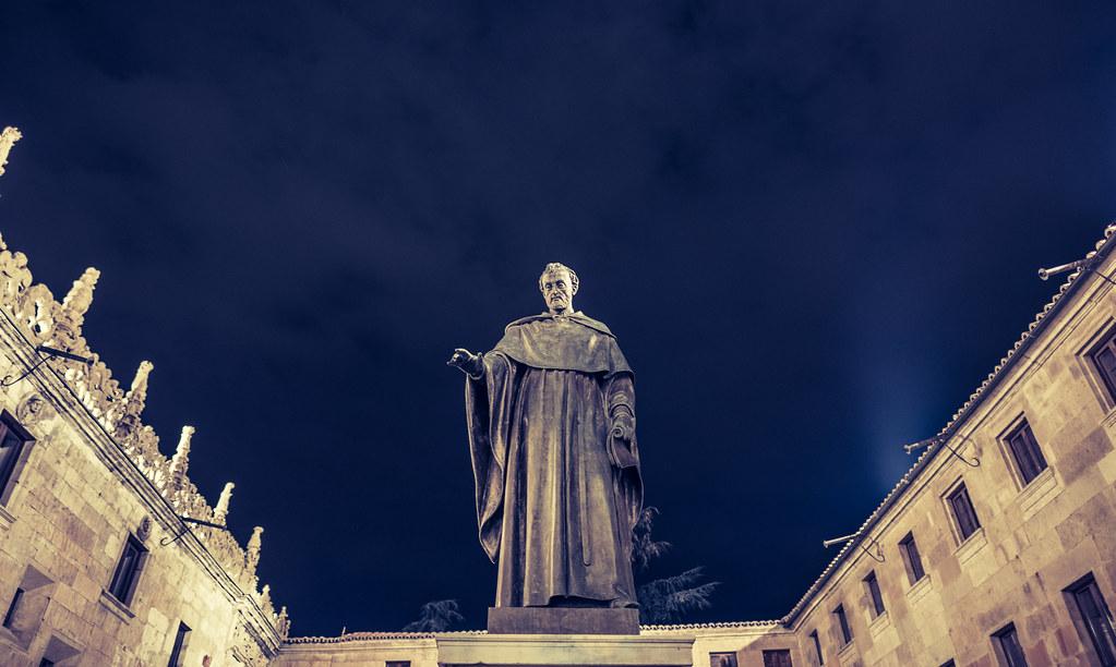 Fray Luis de León en la Noche de Salamanca