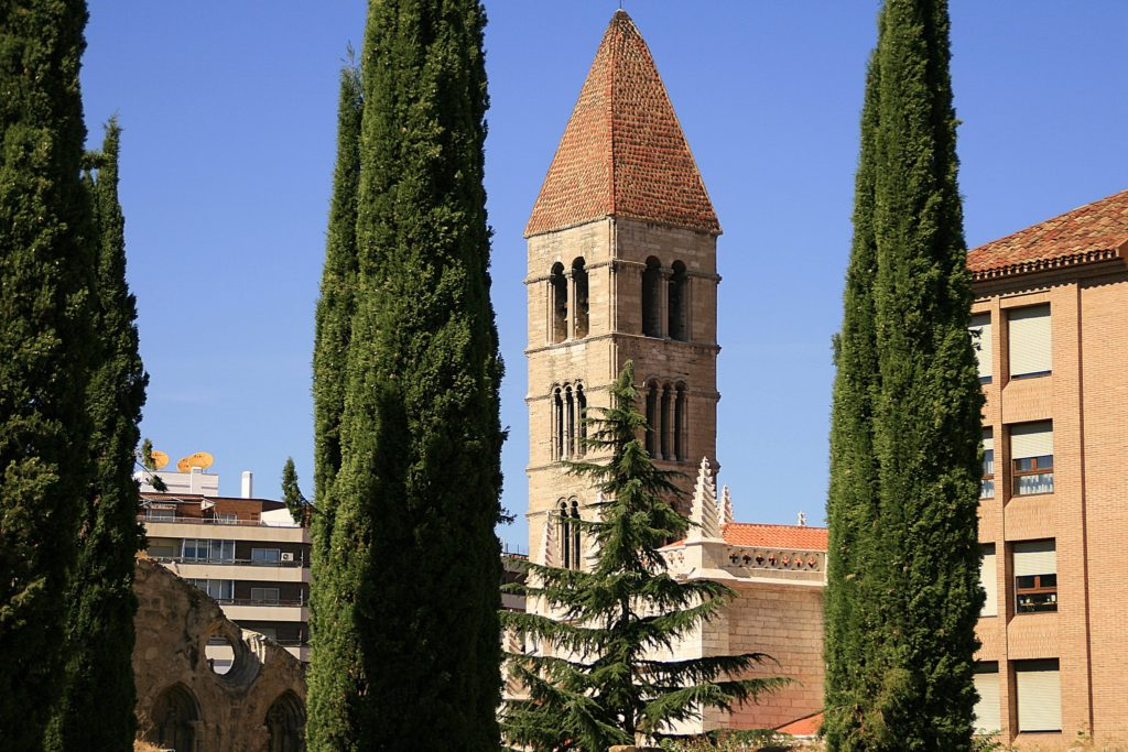 Torre de la Iglesa de Santa María de la Antigua de Valladolid