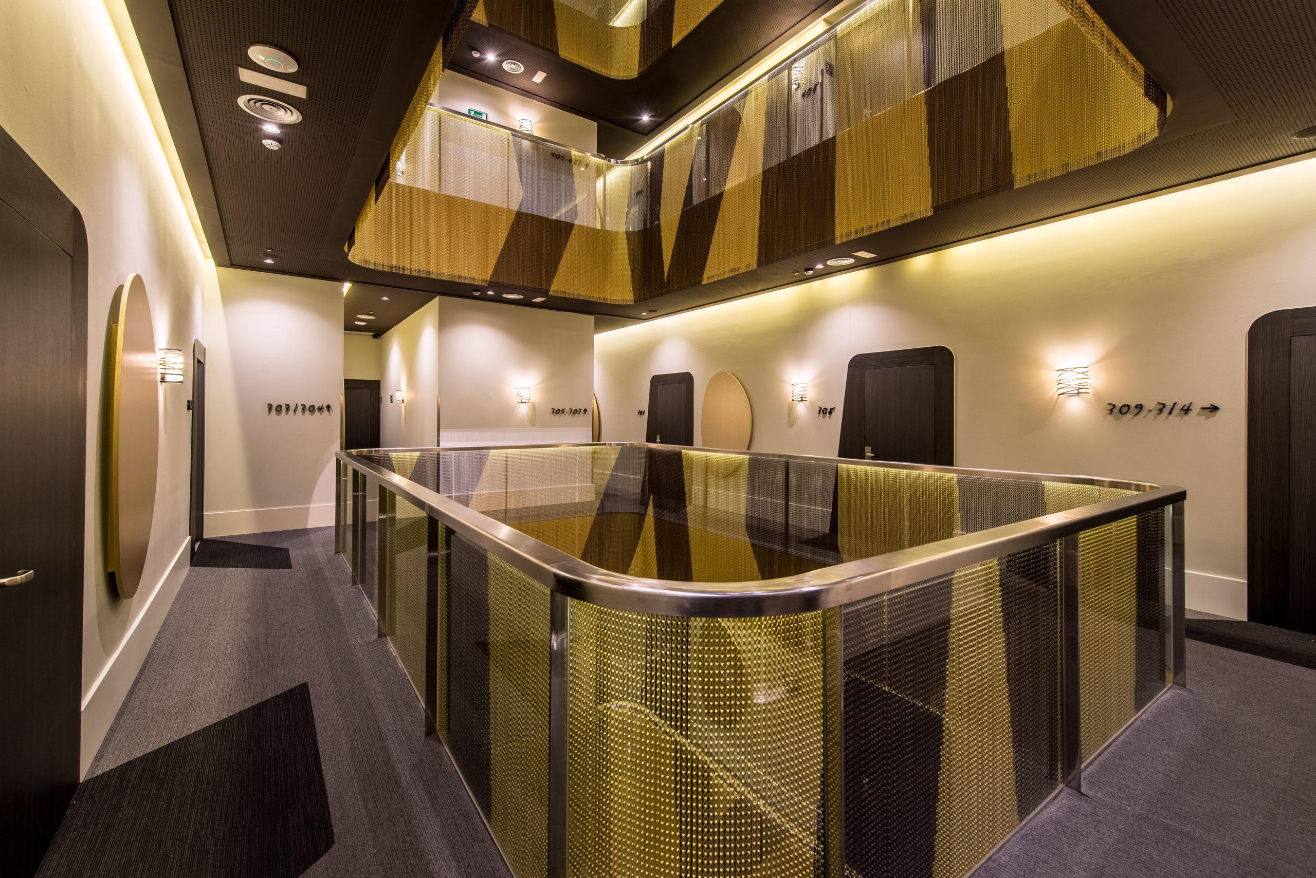Diseño arquitectónico en Vincci Gala