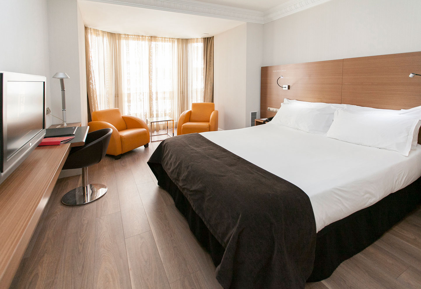 Habitación Vincci Zaragoza Zentro