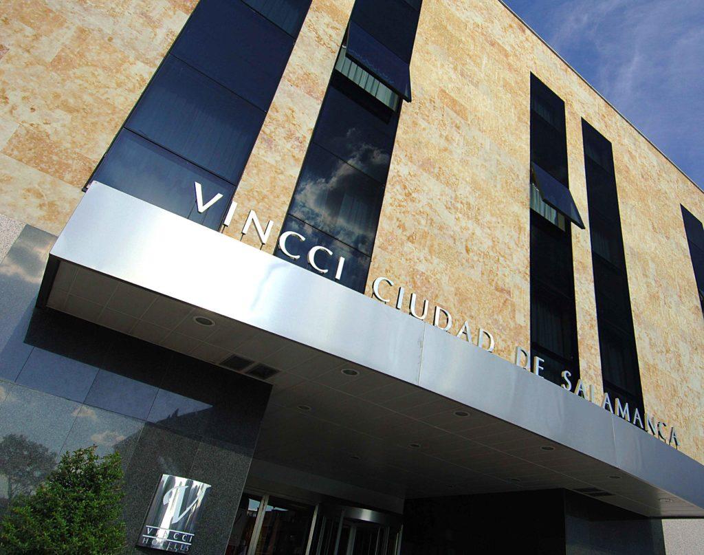 Fachada del hotel Vincci Ciudad de Salamanca