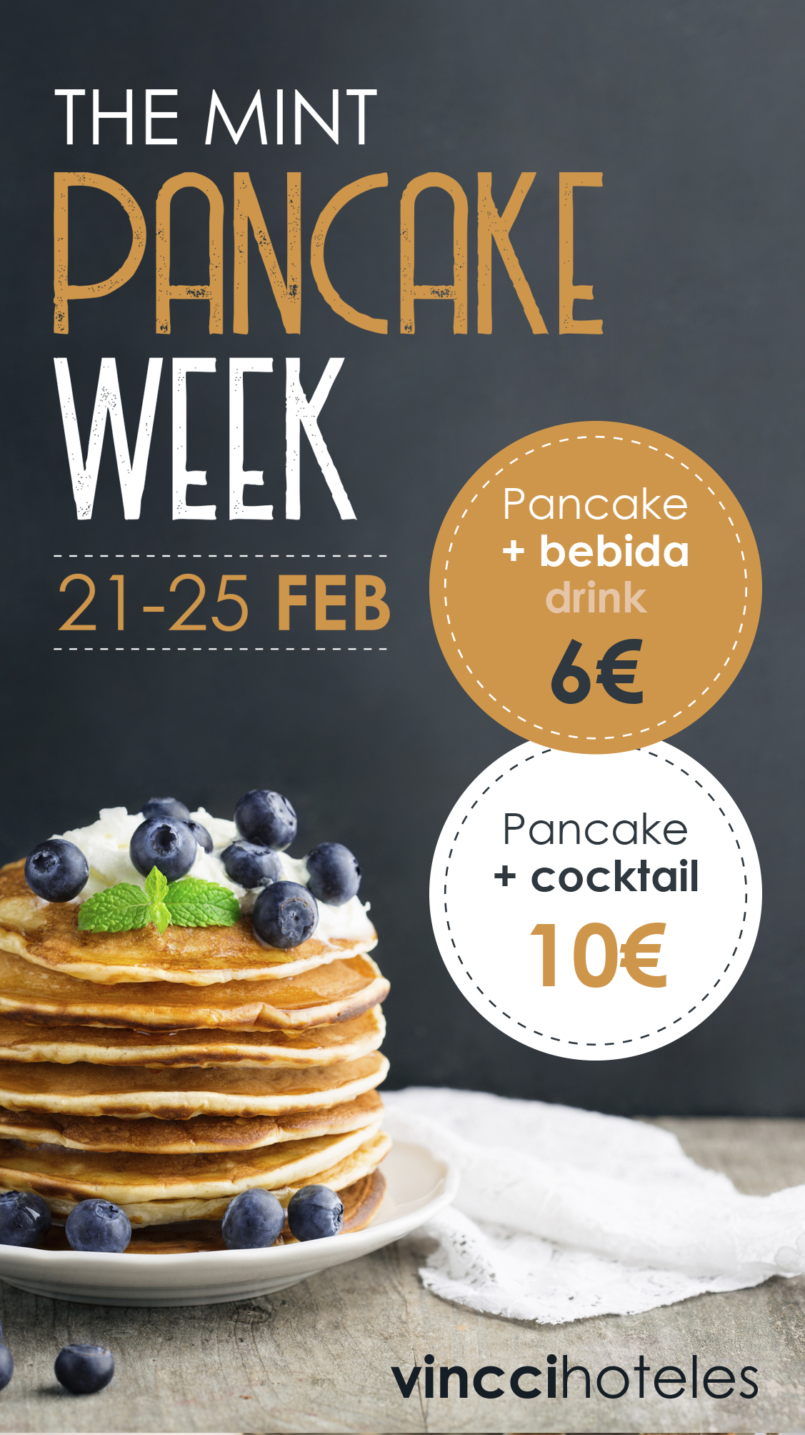 Pancake Week en Vincci The Mint