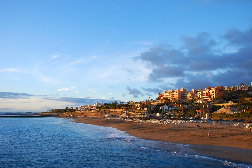 Playa Duque en Costa Adeje de Tenerife