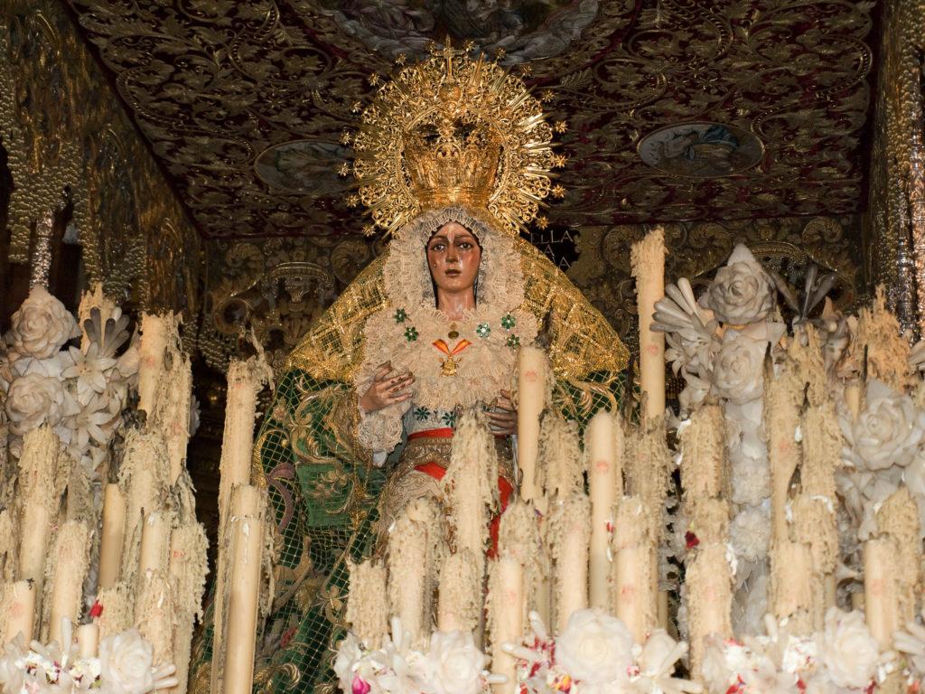 Imagen de la Virgen de La Macarena de Sevilla