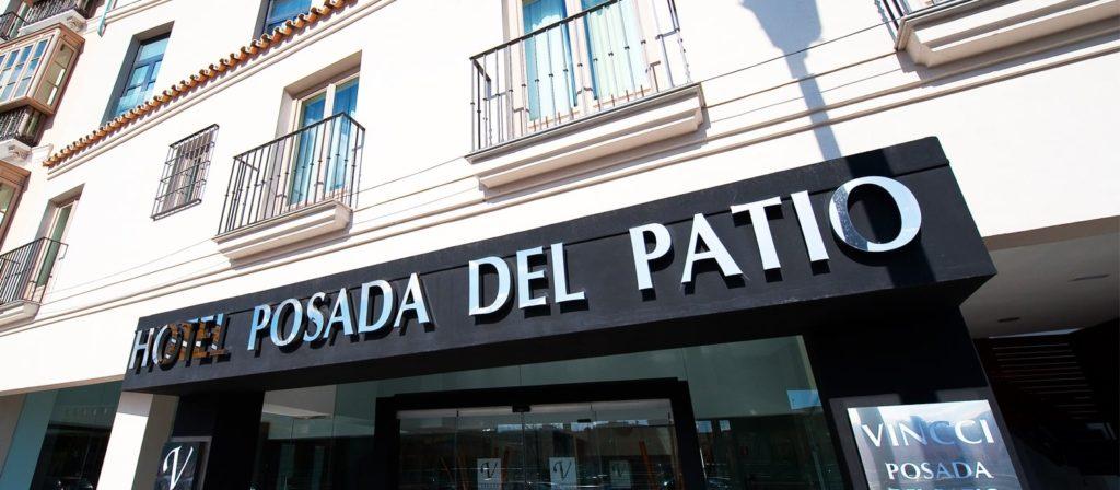 Fachada del hotel Vincci Selección Posada del Patio en Málaga