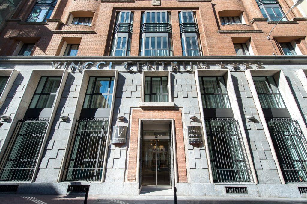 Fachada del hotel Vincci Centrum de Madrid
