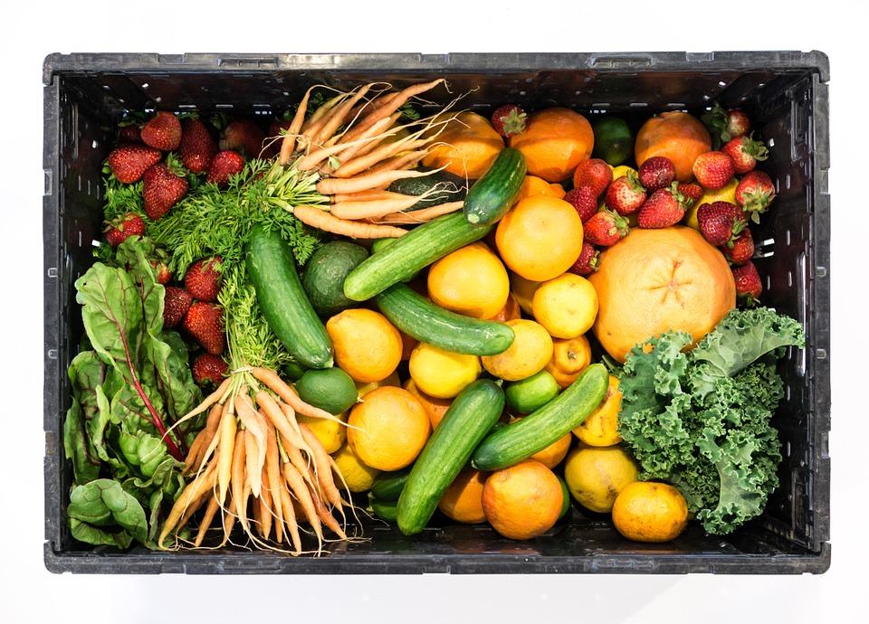 Frutas, hortalizas y verduras