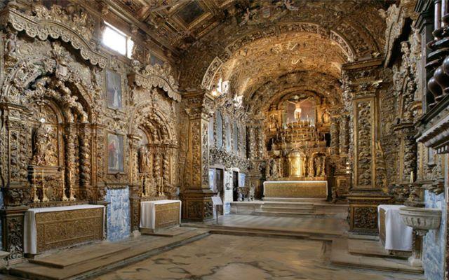 Interior del Monasterio de Jesús de Aveiro