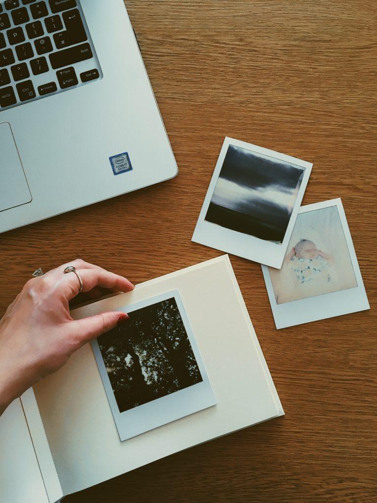 organizar fotos de viajes