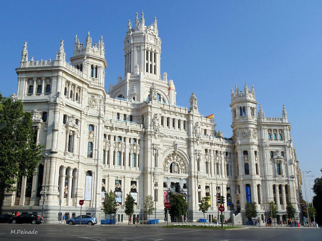 Palacio de Cibeles en Madrid