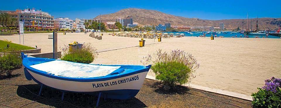 Playa de Los Cristianos en Arona