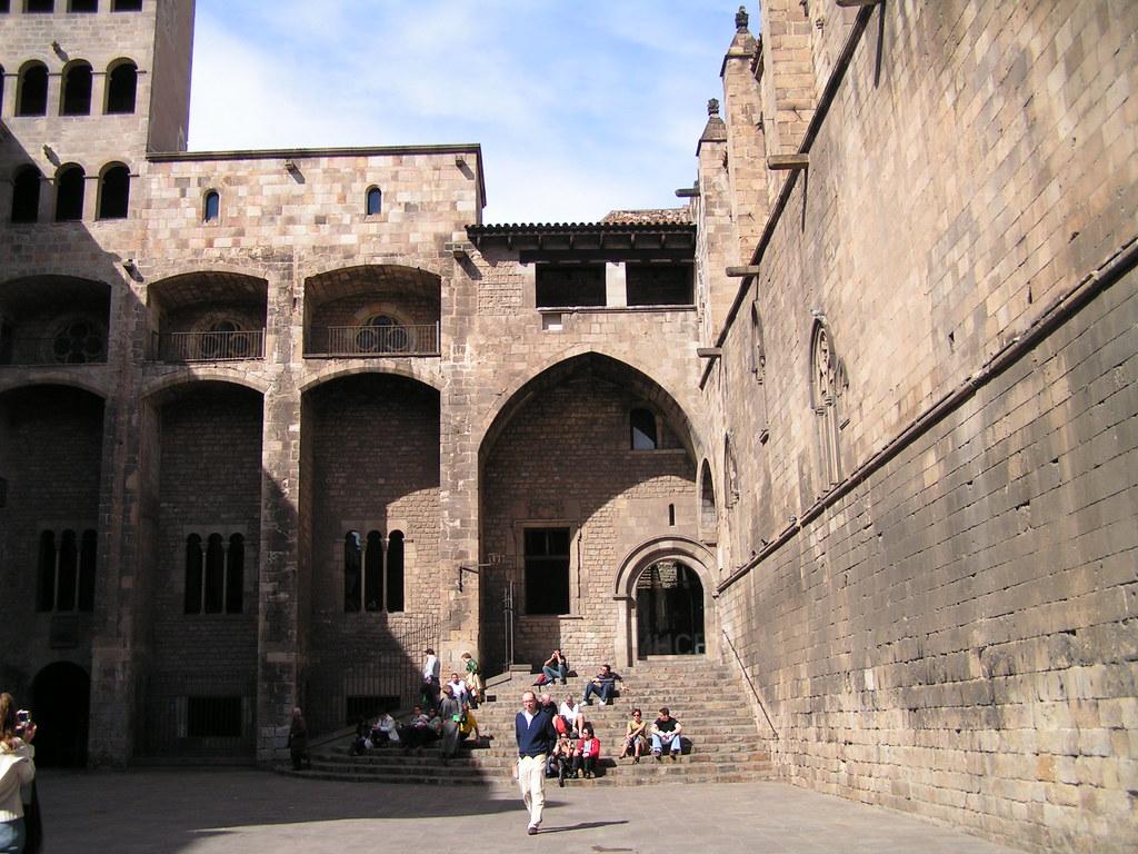 Plaça del Rei del Barrio Gótico de Barcelona