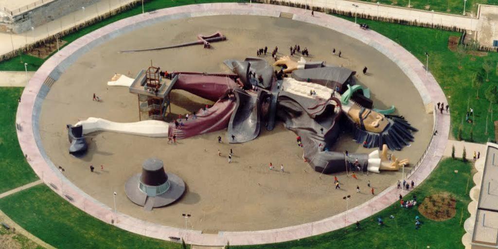 Estatua de Gulliver en Valencia