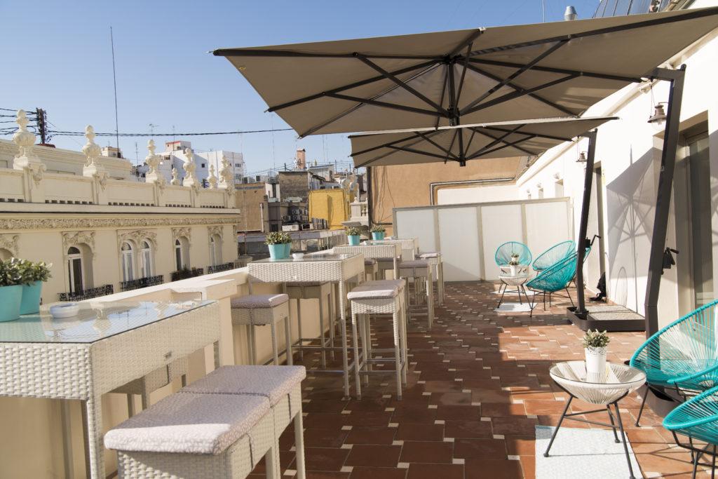 Terraza del hotel Vincci Lys 4*