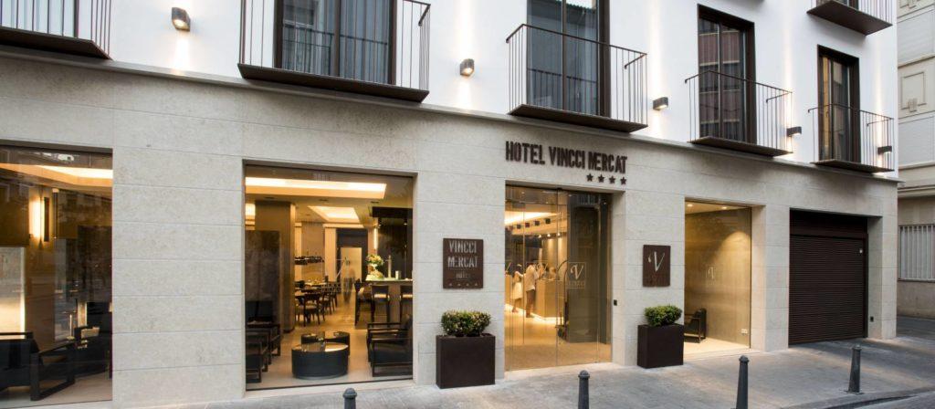 Fachada Vincci Mercat Valencia