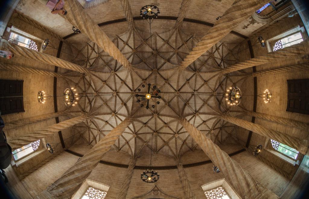 techo de la lonja de la seda valencia
