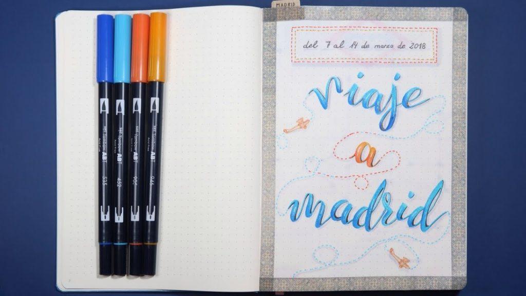 diario de viaje madrid