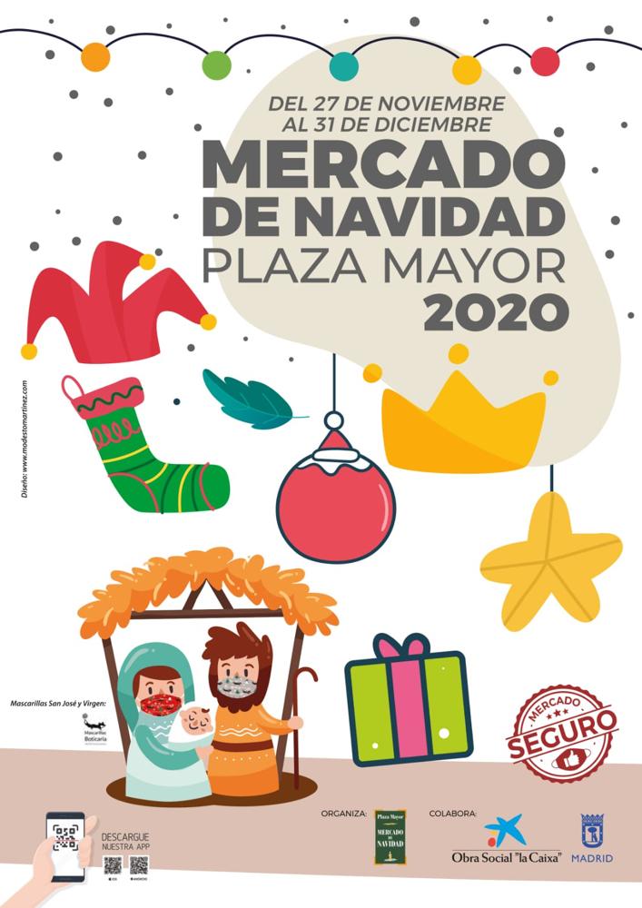 Mercado de Navidad de la Plaza Mayor 2020