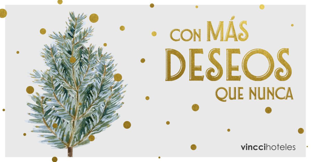 La magia y la ilusión de la Navidad se dan cita en Vincci Hoteles: Navidades como siempre  para disfrutarlas como nunca