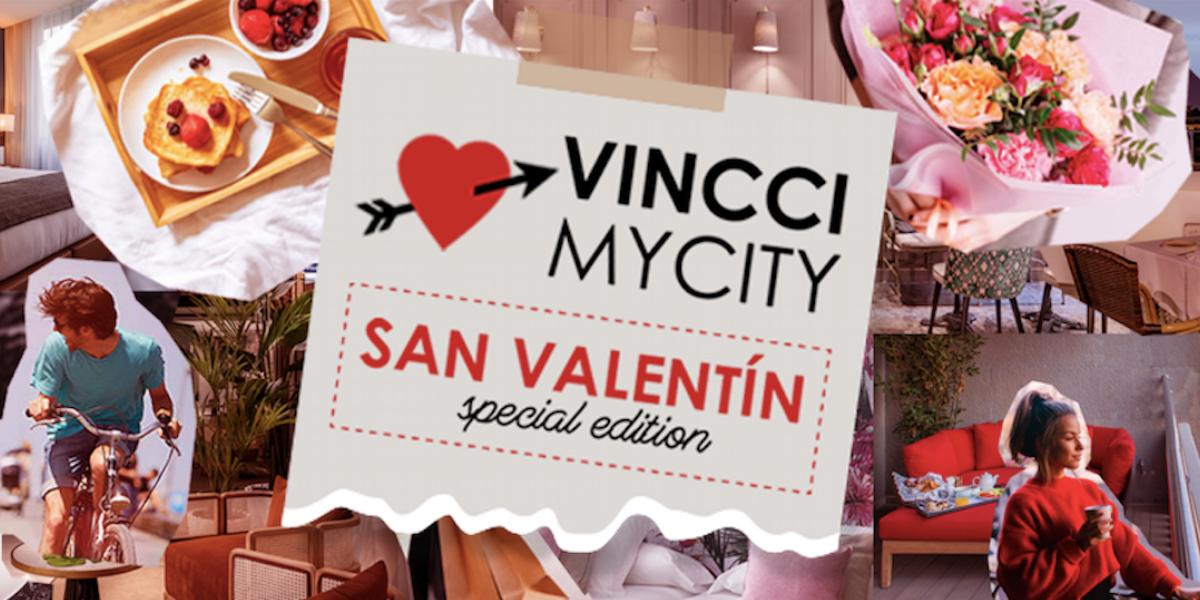 VincciMyCity San Valentín ofrece románticas experiencias locales durante todo el mes de febrero  sin salir de tu propia ciudad