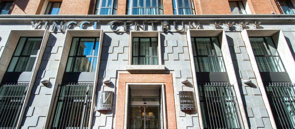 Fachada del Hotel Vincci Centrum 4* de Madrid