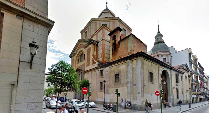 iglesia san sebastian madrid