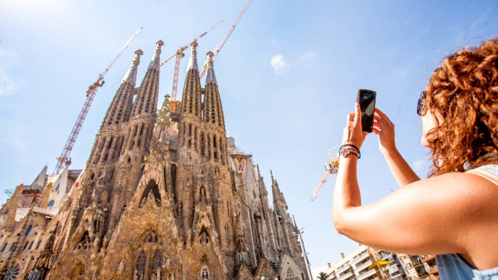 foto sagrada familia barcelona
