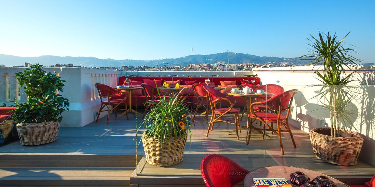 ¡Llega el buen tiempo! Vuelve la temporada de terrazas de Vincci Hoteles