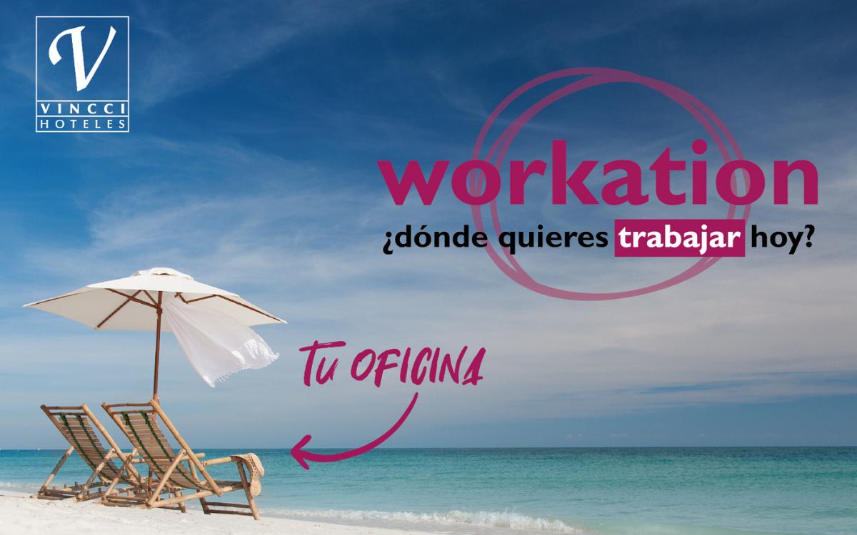 Vincci Hoteles se suma al Workation,  la tendencia que hace de tu lugar de vacaciones  tu oficina de trabajo