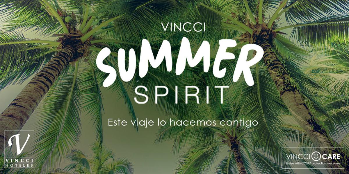 Vincci Hoteles recupera el espíritu del verano con VINCCI SUMMER SPIRIT