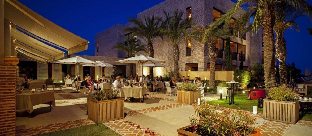 restaurante baraka hotel vincci